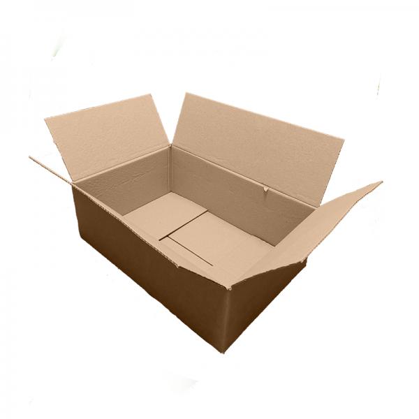 "Open 18x12x6"" Single Wall Box"