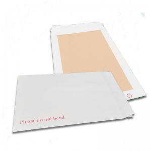 324 X 229mm White Board backed Peal & Seal Envelopes at Cardboard Boxes NI