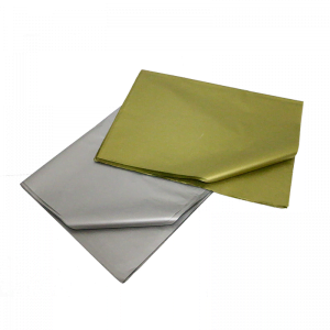 gold and silver tissue paper at Cardboard Boxes NI