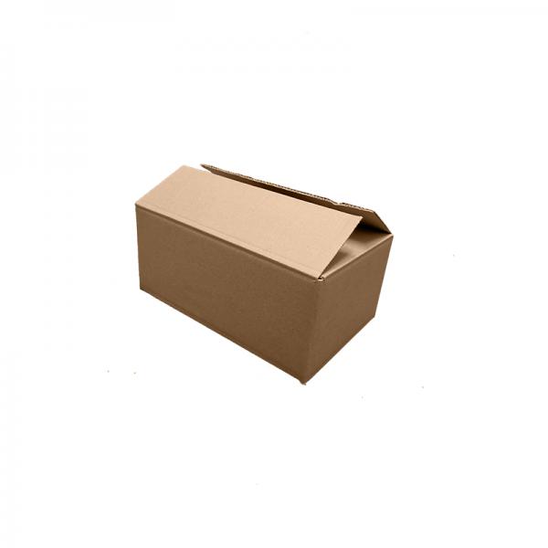 "Slightly opened 11x7x5"" Strong Single Wall Box at Cardboard Box NI"