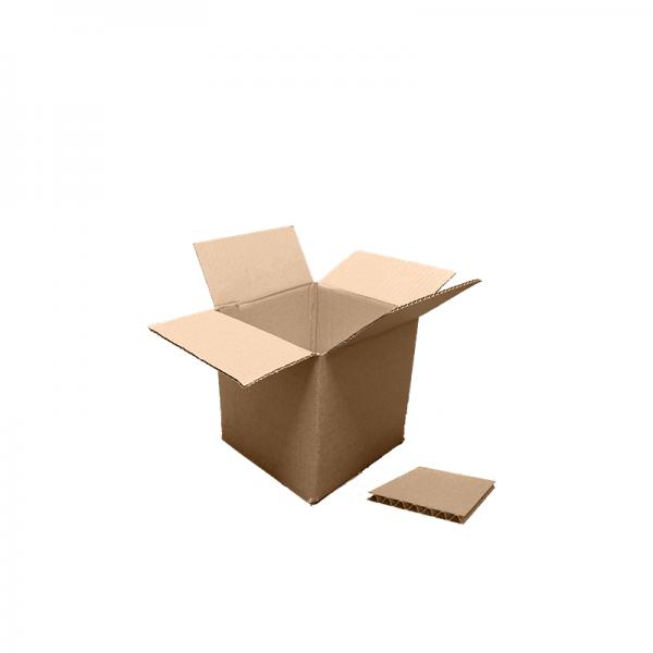 6x6x6 Single Wall Box at Cardboard Boxes NI