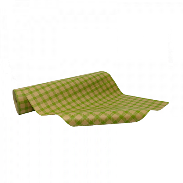 Natural kraft paper with green available at Cardboard Boxes NI