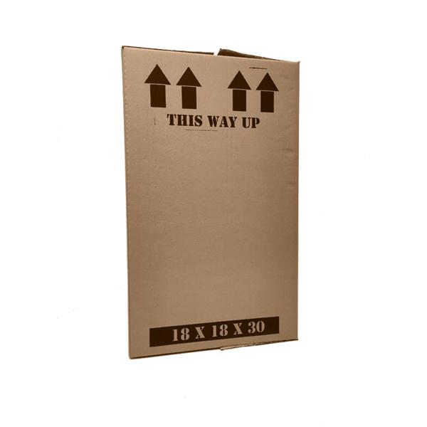 "18x18x30"" Double Wall Cardboard Boxes at Cardboard Boxes NI"