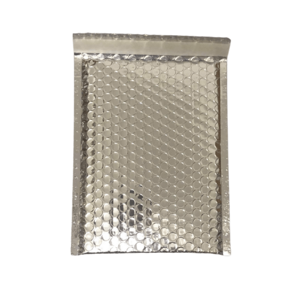 Silver Bubble Mailers A5